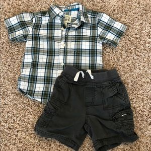 Boy 12 month classic spring outfit